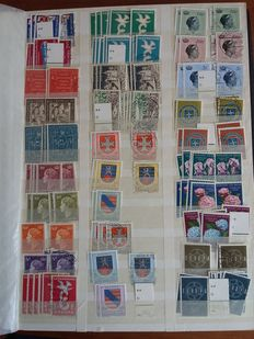 Luxembourg 1958-1984 - Batch of stamps with duplication