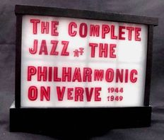 The Complete Jazz at the Philharmonic on Verve 1944-1949 is not opened before! 10cd's