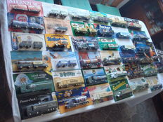 Collection - brewery trucks, advertising trucks, a few vintage trucks, in original packaging, 72 pcs - 1998/2006