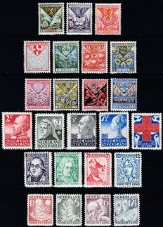 The Netherlands 1925/1930 - Six complete series Child and Red Cross