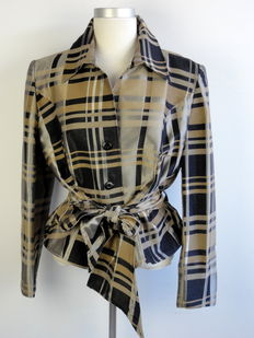 Scarva - tailored fit jacket - with belt