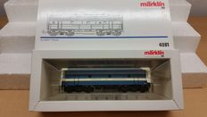 Marklin H0 - 4081 - Middle carriage of Texas & Pacific