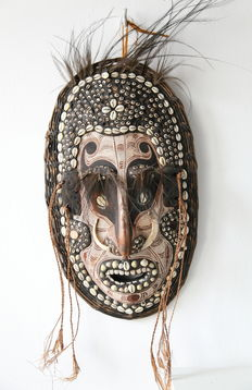 Mask - Iatmul - Middle Sepik River - Papua New Guinea