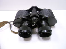 KOMZ 6 x 24 ' wide angle ' USSR binoculars, in good condition, with leather cover