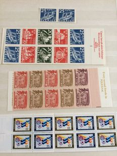 Sweden - collection including 35 stamp booklets.