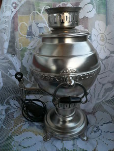 Vintage, large Samovar, kettle made in USSR - dating back to 1981, stamped rare find