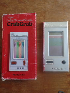 Lot of 2 Nintendo Game & Watch - Crab Grab Boxed - Spitball Sparky loose