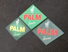 Palm Beer advertising sign- set of 3 - 2003