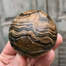 Fine Stromalite sphere - 59mm - 295gm