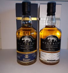 2 bottles - Wolfburn set - Rigby and ALSD