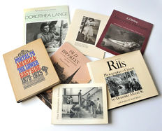Lot with 7 books about American photography between 1865-1929 - 1966/1985