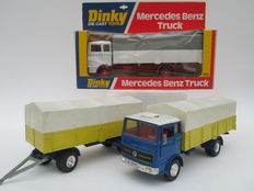 Dinky Toys - Scale 1/43 - Lot with Mercedes-Benz Trucks Nos.917 and 940