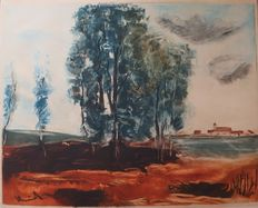 Maurice de Vlaminck (after) - Village d'Herouville