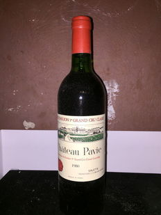 1980 Château Pavie Saint-Emilion Grand Cru Classé – 1 Bottle