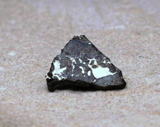 Meteorite - Almahata Sitta Asteroid 2008 TC³ - MS-MU-019 Metal-rich Endstatite-Achondrite with affinities (O-isotopes) to Aubrites - 1.45 x 1.15cm - 0.475 g - Unique New Meteorite