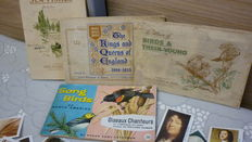 4 complete  albums whit cards - Engeland , circa 1950