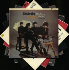 "Lot of six Beatles albums including rarities - Contains ""Not guilty"", ""The real case has just begun"", ""Five nights in a judo arena"" and other"