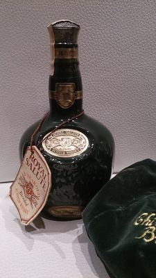 Chivas Brothers Royal Salute 21 years old green decanter