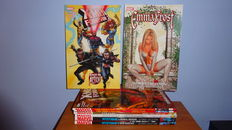 Marvel TPBs including Mystique, Emma Frost, X-Men Forever 2 and more - 8x sc - first printing - (2007 / 2011)