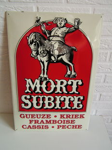 Very nice billboard: Mort Subite