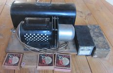 Old DL magic lantern with images