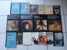 Lot of 17 publications on photography