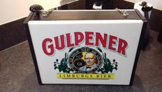 Gulpener light box-late 20th century