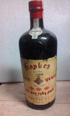 Port wine - Kopke 300 years - Old Dry Ruby Port - 1 bottle
