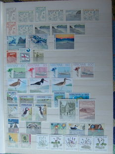 Faroe Islands 1973/2006 – Collection with sheets, stamp booklets and Jul sheets