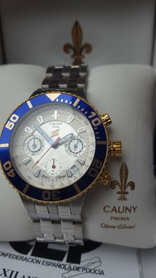 Cauny Prima limited edition chrono XII Anivers. CEP - Men's wristwatch