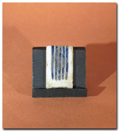 Egyptian Mosaic Glass Inlay, 3.1 cm L