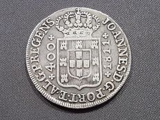 Portugal – 400 Reis silver coin – Don Joao – Year 1811