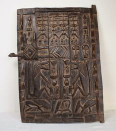 African granary door - DOGON - Mali