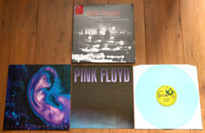 Pink Floyd- lot of 2 limited edition lp's: London 1966/1967 (Record Store Day release 2011 on 180g white wax) & One Of These Days (limited & numbered release of 500, on green wax & w. poster!)