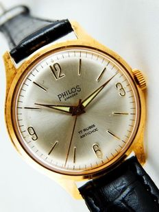 Philos Standex – men's watch, 1960s