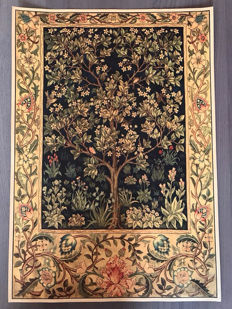 William Morris - Tree of life Umber 1879