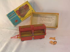 Corgi Major Toys - Schaal 1/48 - Chipperfield's Circus Animals Cage with pair of Lions No.1123c