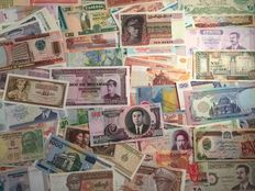 World – 100 different world banknotes