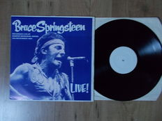 Lp Bruce Springsteen  Live At The Kemper Memorial Arena 19/11/1984 , Limited Edition 500 Copies , Unofficial