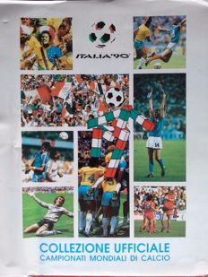 Italian World Cup Soccer - Italy 90 Hello SPL of FIFA Album