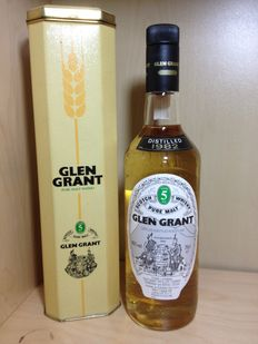 1982 Glen Grant 5 years old, Distilled 1982 - Vintage Original Bottle in Box