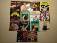Rock ' N ' Roll - Lot of 14 LP  Albums including 2 double Albums