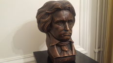 A beautiful ,heavy bust of Beethoven