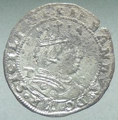 Eagle – Crowned Ferdinand I of Aragon (1458-1494) – Silver.