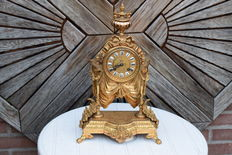 French table clock - around 1890