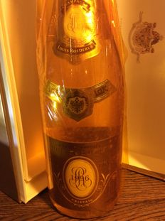 1996 Cristal Louis Roederer champagne - 95/100 R.Parker – 1 bottle with case