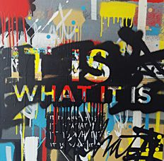 Iwan Roberts - It is what it is (No.1)