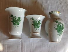 Herend - lot with 3 vases