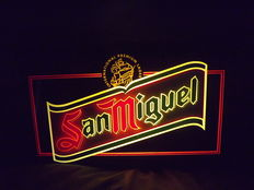 San Miguel illuminated sign (in working condition)