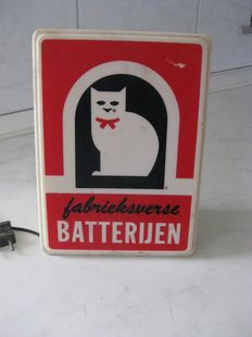Light box for Witte Kat (White Cat) batteries